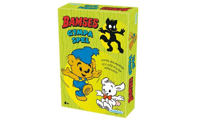 Tävla om Bamses Gympaspel!