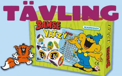 Ni har vunnit Bamse yatzy!