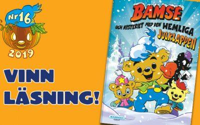 Bok-tävling i Bamse nr 16!