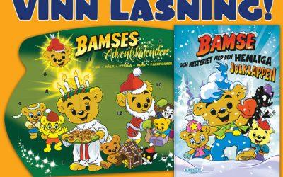 Vinnare Bamse nr 16 – Adventskalender och Julbok