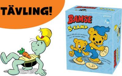 Vinn nya Bamses 5-kamp!