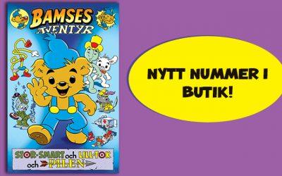 Spännande läsning i Bamses äventyr!