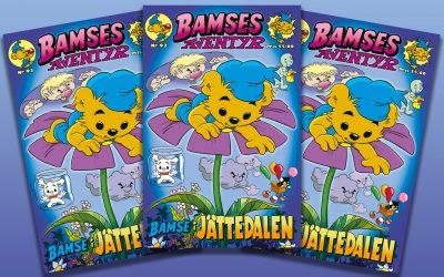 Senaste numret av Bamses Äventyr är här!