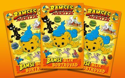 Missa inte nya numret av Bamses Äventyr!