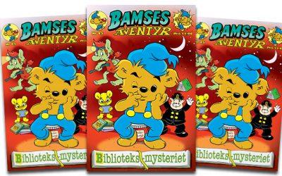 Nytt nummer av Bamses äventyr!