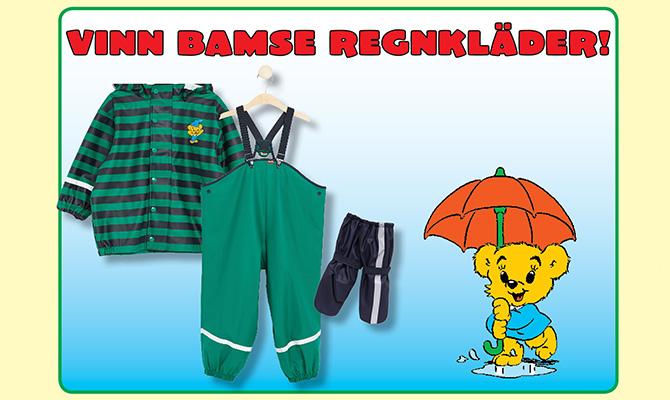 Vinnare av Bamse regnkläder
