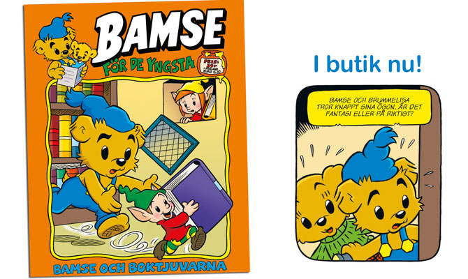 Nytt nummer av Bamse för de yngsta!