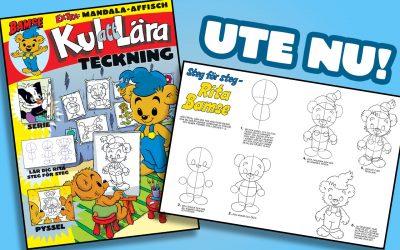 Bamse Kul att Lära: Teckning!