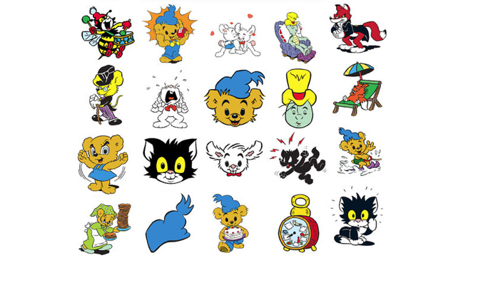 Bamse iMessage stickers