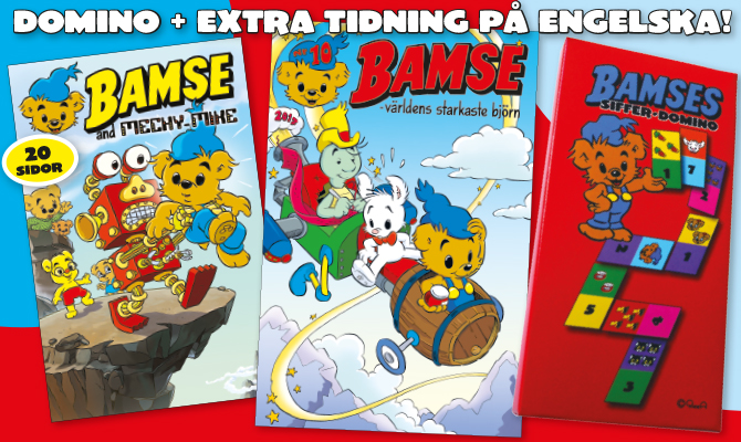 Bamse in English