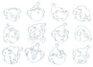 bamse och tjuvstaden bamses ansikte