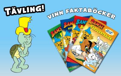 Vinnare Bamse Faktaböcker