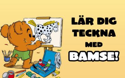 Bamses tecknarskola – tips och övningar
