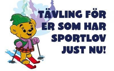 Sportlovs-tävling!