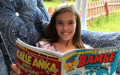 10-åriga Elin vinnare i serietävling om Luddmonstret