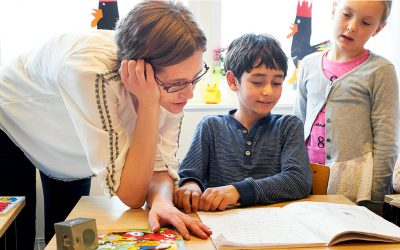 Bamses lärarhandledning om högläsning