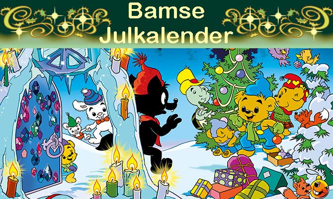 Bamses julkalender – alla luckor samlade