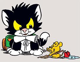 Katten Janson och Husmusen: Vem behöver vem – mest?