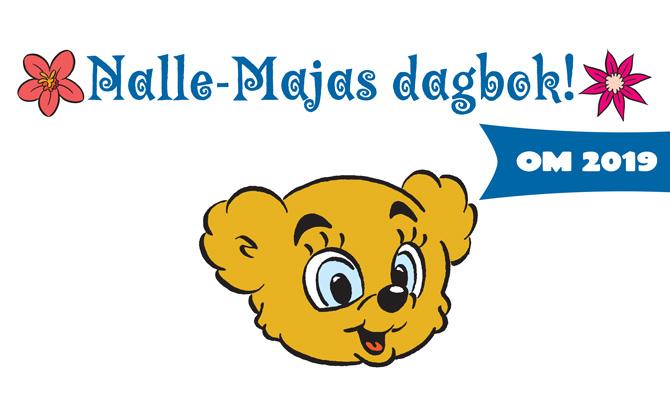 Nalle-Majas dagbok om året som gått