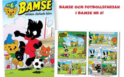 Nytt nummer av Bamse!