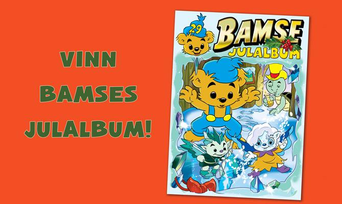 Vinnare Bamse nr 17: Bamses Julalbum