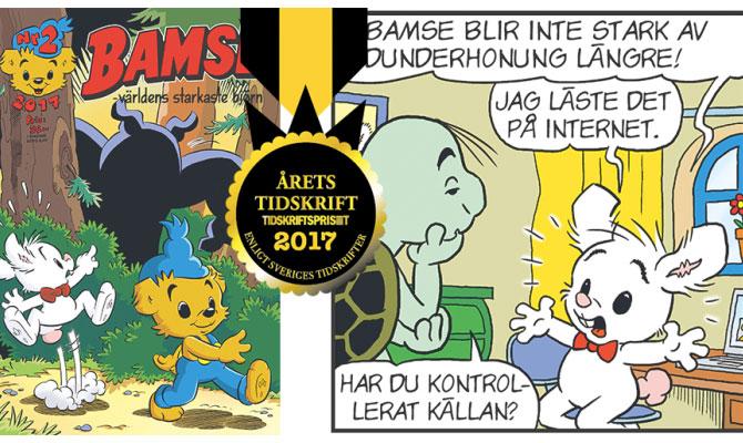Bamse blev årets tidskrift