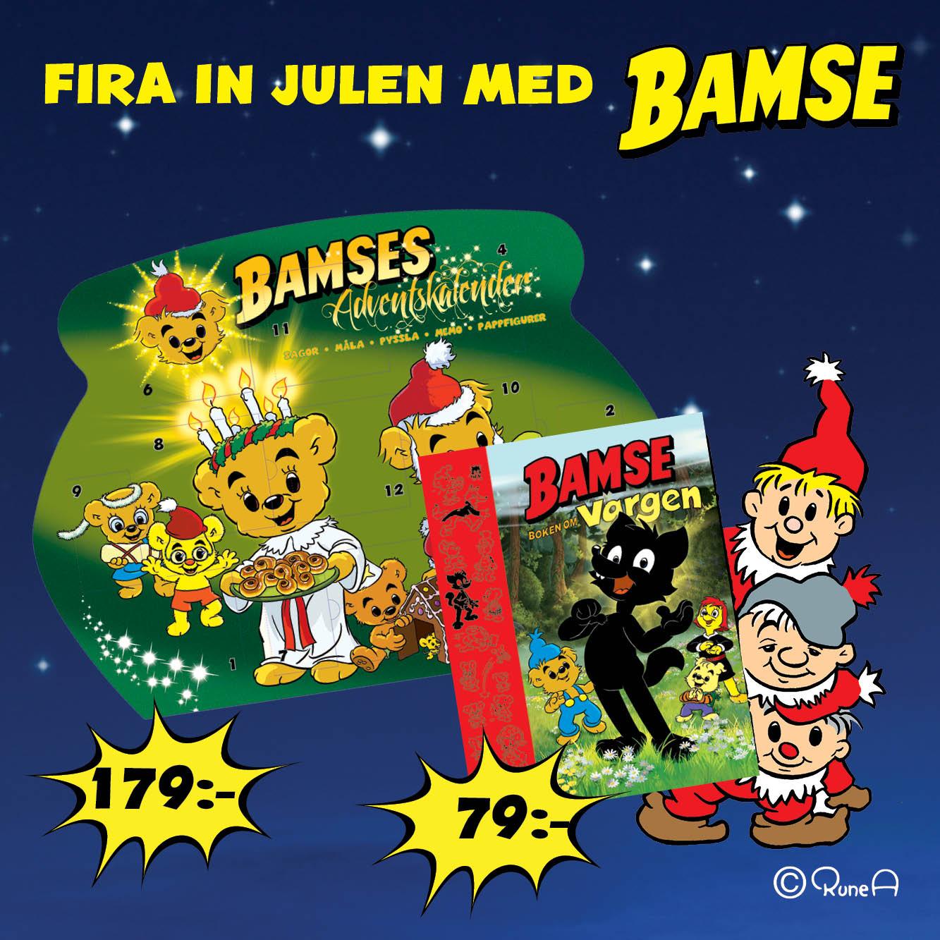 Fira in julen med Bamse