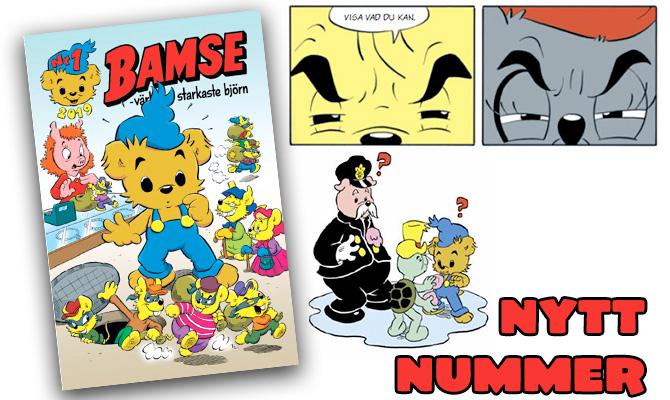 Årets första Bamse-nummer är här!