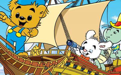 Bamse och skeppet Vasa
