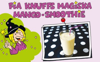 Gör Pia Knuffs mangosmoothie i påsk!