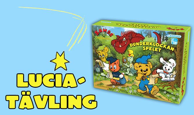 Luciatävling – vinn Dunderklockan-spelet!